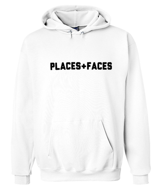 places faces hoodie - teelooks f81560ccc