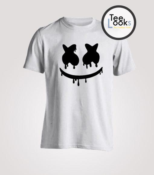 Marshmello Mask T-shirt