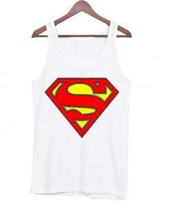 Superman Logo Awesome Cute Unisex Tanktop