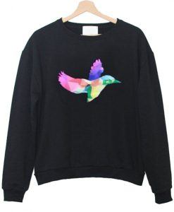 amazingphil rainbow bird sweatshirt