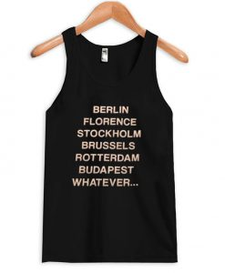 berlin florence stockholm tank top