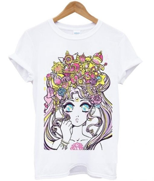 miss kika sailor moonlight legend tshirt