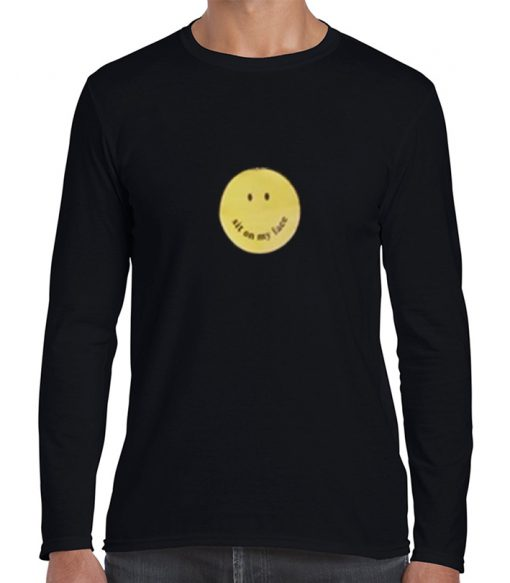 sit on my face smiley t-shirt