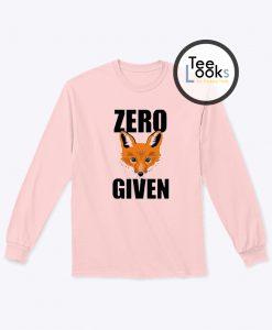 Zero Given sweatshirt