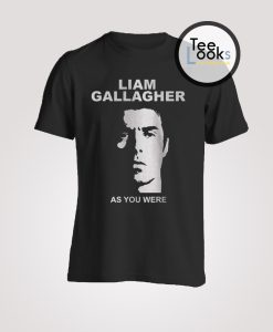 Liam Gallagher Oasis As You Were T-Shirt