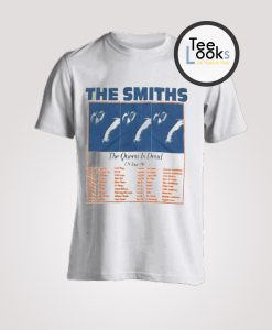The Smith The Queen Is Dead US Tour 86 T-Shirt