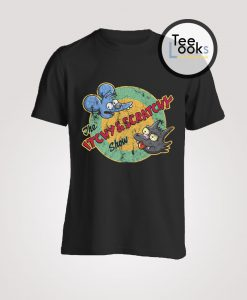 The Simpsons The Itchy Scratchy Show T-Shirt