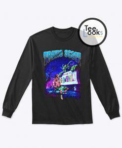 Travis Scott Welcome To Astroworld Sweatshirt