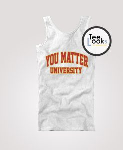 You Matter University Demetrius Harmon Tanktop