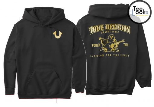 True Religion Front Back Hoodie