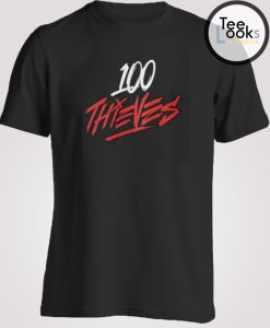 100 Thieves cool T-shirt