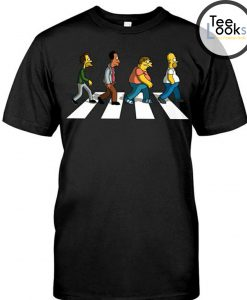 The Simpson Abbey Road T-shirt