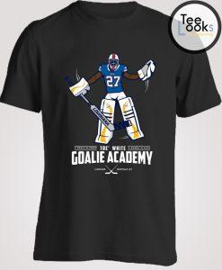 Tre white goalie academy T-shirt