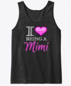 Being a Mimi Heart Love Mi Mi Valentine Tank Top IGS
