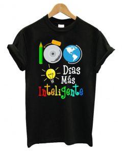 100 dias mas inteligente T shirt IGS