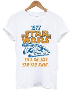 1977 star wars t-shirt RE23