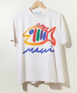 Vintage 90s Single Stitch Hawaii T-Shirt RE23