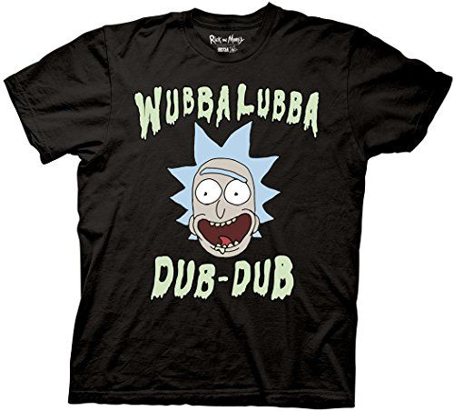 Wubba Lubba Rick Morty T-shirt RE23