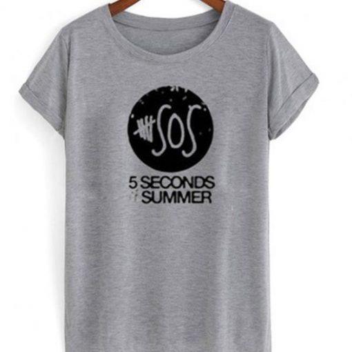 SOS 5 seconds summer t-shirt RE23
