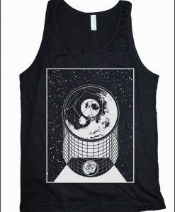 ALPHA MOON Geometry Tank Top RE15