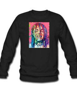 6ix9ine Paint Art sweatshirt REW
