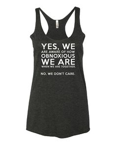YES WE TANK TOP ZX06