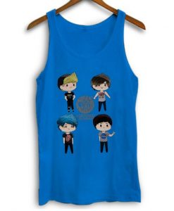 5 Seconds Of Summer Cute Personnel Women Tank Top ZX06