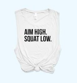 AIM HIGH SQUAT TANK TOP ZX06