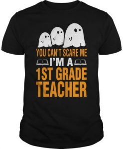 You Cant Scare Me T-shirt RE23