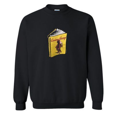 1990s CURIOUS GEORGE VINTAGE SWEATSHIRT RE23