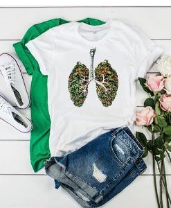 WEED LUNGS T-SHIRT RE23
