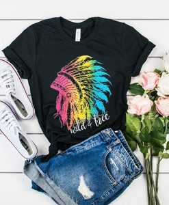 WILD AND FREE T-SHIRT RE23