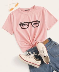 WINKED EYE T-SHIRT DN23